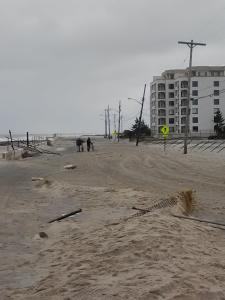 A street in Long Branch, NJ after Sandy. Long Branch was among the many areas greatly affected by the storm.