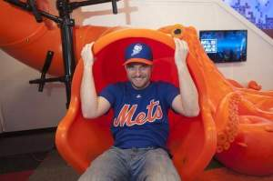Travis Miller in the MLB Fan Cave
