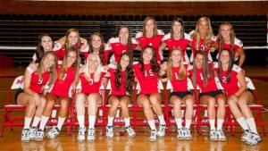 The 2013 Marist Volleyball Team. Photo Credit: Marist Athletics.