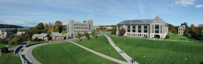 The Campus Green at Marist College. Photo courtesy of Marist College.