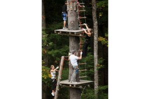 Part of the Adirondack Extreme Adventure Course in Bolton Landing, NY  (Photo courtesy of Adirondack Extreme Adventure Course website)