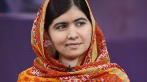Malala Yousafzai, the youngest Noble Peace Prize winner in August 2014 (Photo courtesy of Ida Mae Astute/ABC)