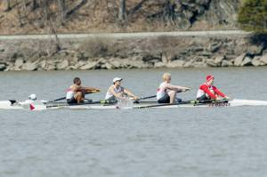 Marist's Mens Crew Team in the 2014 President's Cup (photo courtesy Marist Athletics).