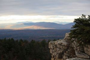 View from hike in Mohonk Preserve (Photo courtesy of Flickr/jcantroot)