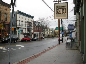 Main Street in New Paltz  (Photo courtesy of Flickr/gavieb)