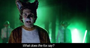 "Still from Comedy Duo Ylvis and their song ""The Fox (What Does the Fox Say?) Photo courtesy of The Huffington Post."