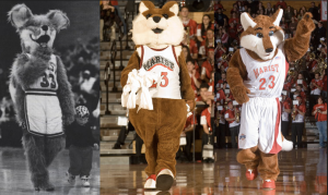 The evolution of Shooter Fox throughout the years. Photo courtesy of Marist Hoops Board.