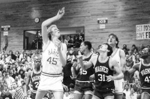 Marist vs. Wagner, 1986 (courtesy  of Marist Athletic Department)