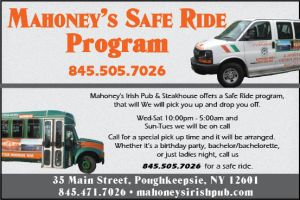 Mahoney's Safe Ride program as outlined on their website