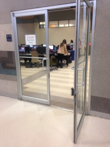 Donnelly Computer Lab.  Open 24/7.