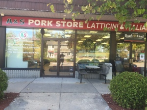 This is a picture of A&S Pork Store and Fine Foods in Jefferson Valley, New York.