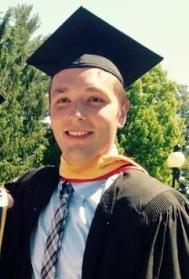 Marist College Class of 2015 graduate John Herman on graduation day.