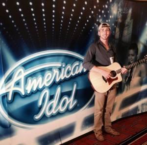 Ryan Clark on American Idol.