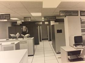 A Marist computer lab from the 1980's.