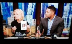 Kelly Ripa talking about the event the next morning on her show, Kelly & Michael.