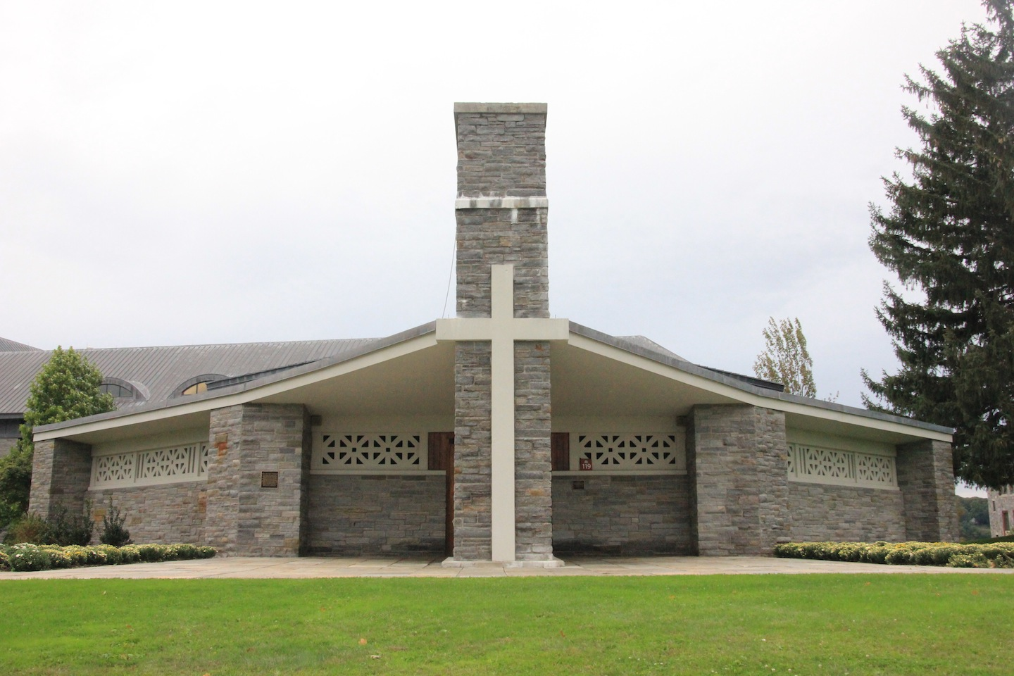 The 'Our Lady Seat of Wisdom Chapel' sits at the heart of the Marist campus. Services are held five days a week.