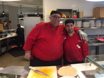 Jay (left) and Charlie (right) are two popular faces in the Marist Dining Hall