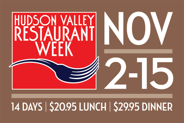 Official Logo for Hudson Valley Restaurant Week taken from Website