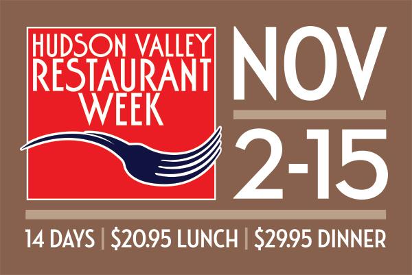 Official Logo for Hudson Valley Restaurant Week taken from Website