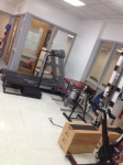 Equipment located inside the Center For Sports Medicine