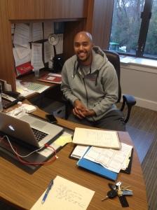 Marist Assistant Men's Basketball Coach, C.J. Lee.