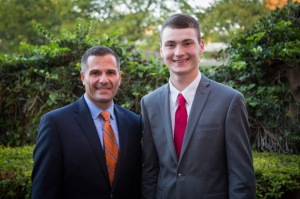 Will and Marc Molinaro at a fundraiser at the Grand Hotel in October.