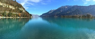 Beautiful sunny day in Interlaken, Switzerland. Photo by Erica Gusick