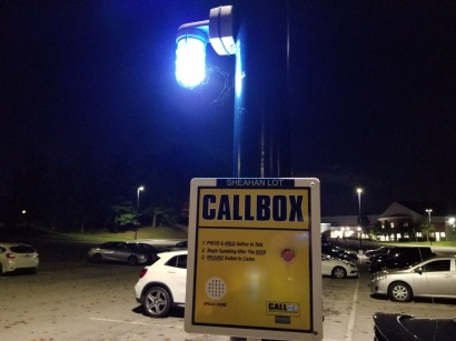Blue Callbox