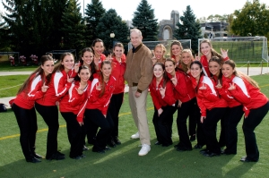 Bill O'Reilly - Marist Cheerleaders